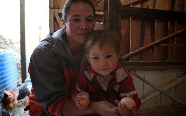 familia salud huevo proteina infancia nutricion programa videografias retrato camaroni asociacion civil