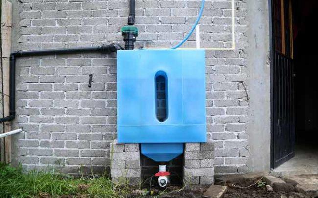 Tlaloque sistema isla urbana agua lluvia captación camaroni videografías sociales video sensibilización